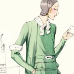 Glass of Fashion - Le Croquis Original 1931