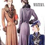 Glass of Fashion - Catálogo Francês de 1940-1941