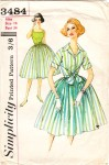 Glass of Fashion - Simplicity 1950s