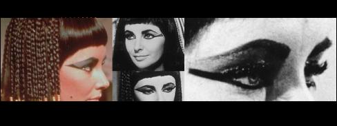 Make da Elizabeth Taylor no filme Cleopatra