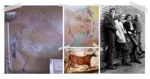 Grafite da Banda, Pintura na caverna de Lascaux, Sex Pistols.