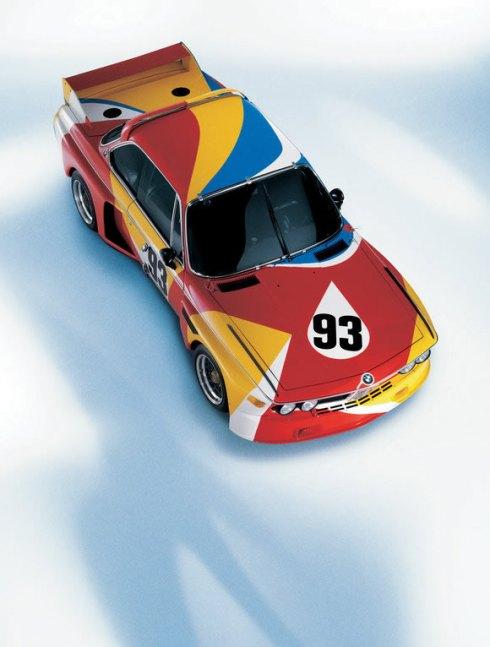 01 - 1975 BMW 3.0 CSL por Alexander Calder