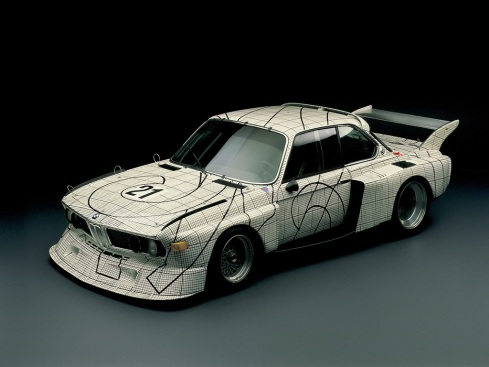 02 - 1976 BMW 3.0 CSL por Frank Stella
