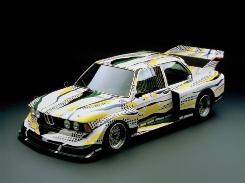03 - 1977 BMW 320i Group 5 Race Version por Roy Lichtenstein