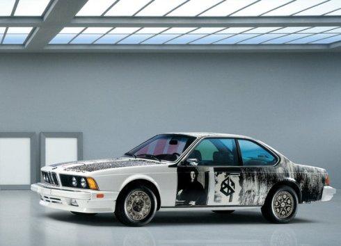 06 - 1986 BMW 635 CSi por Robert Rauschenberg