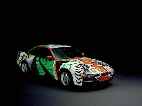 14 - 1995 BMW 850 CSi por David Hockney