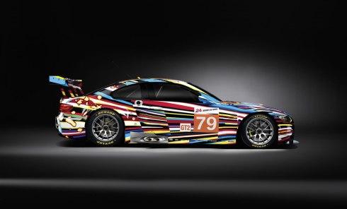 17 - 2010 BMW M3 GT2 por Jeff Koons