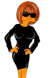 Marge como Anna