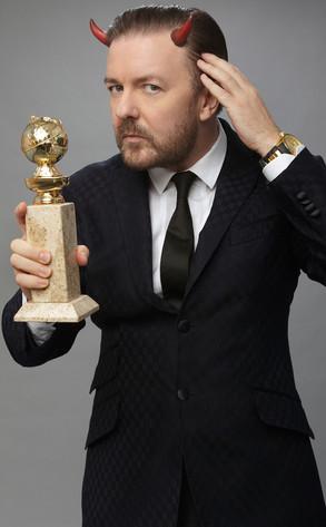 Golden Globe Ricky Gervais