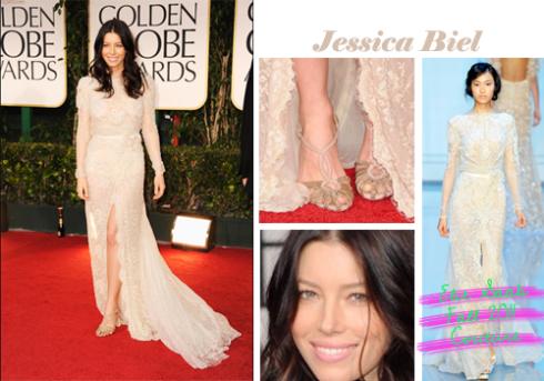 Jessica Biel  Golden Globe