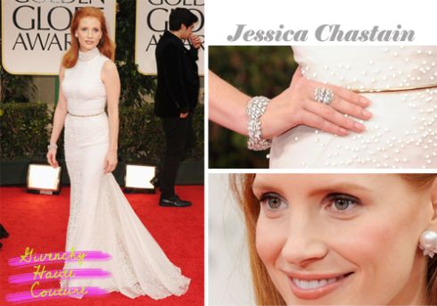 Jessica Chastain Golden Globe