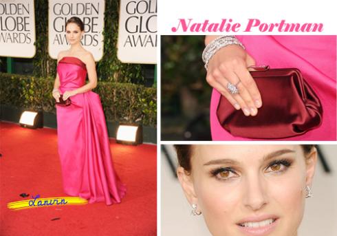 Natalie Portman Golden Globe