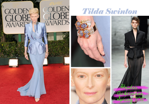 Tilda Swinton Golden Globe