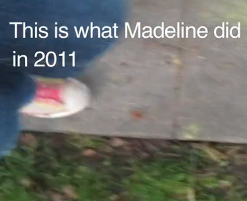 Video Madeline 2011 em 7 Minutos