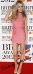 BRIT Awards 2012 Abbey Clancy