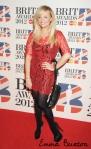 BRIT Awards 2012 Emma Bunton