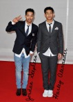 The BRIT Awards 2012 - Jordan Stephens e Harley Alexander