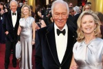 bugs_Oscar 2012_men red carpet_Christopher Plummer and Elaine Taylor