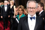 bugs_Oscar 2012_men red carpet_Steven Spielberg and wife Kate Capshaw