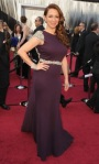 bugs_oscar 2012_Red Carpet_Maya Rudolph in Johanna Johnson