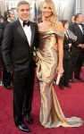 bugs_Oscars_Red Carpet_George Clooney_Stacy Keibler