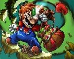 Mario vs. Raz