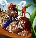 Mario vs. Sackboy