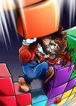Mario vs. Tetriminos