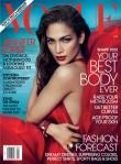 Jennifer Lopez na Vogue US por Mert Alas e Marcus Piggott