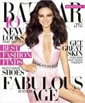 Mila Kunis na Harper's Bazaar por Terry Richardson