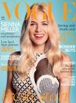 Sienna Miller na Vogue UK por Ryan McGinley