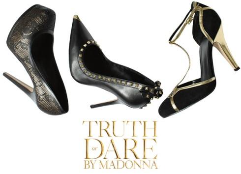 Sapatos da Madonna