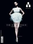 Saskia de Brauw. Hair : Seb Bascle. Make: Alice Ghendrih. Vestido: Louis Vuitton. Sapato: Azzedine Alaïa.
