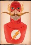 The Flash Mustache