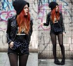 BUGS Street Style Total Black 04