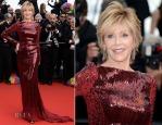 Jane Fonda veste Roberto Cavalli
