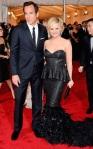 Will Arnett & Amy Poehler vestem Calvin Klein & Fontini