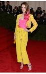 Coco Rocha veste Vintage Givenchy