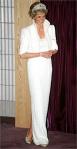 Princesa Diana usando o Elvis Dress