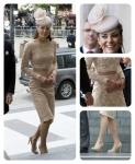 BUGS Jubileu da Rainha Look Kate Middleton nude
