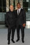 Italo Zucchelli e Victor Cruz vestem  Calvin Klein Collection