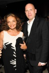 Diane von Furstenberg e Dirk Standen.