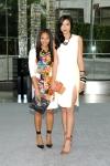 Monique Péan e Lily Kwong, vestindo Altuzarra