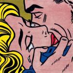 Kiss - Roy Lichtenstein