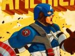 Capitão América Por Arnel Baluyot
