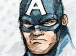 Capitão América Por Brian Athey