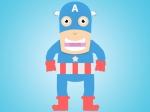 Capitão América Por Corey Russell