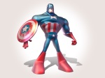 Capitão América Por Cox Design