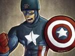 Capitão América Por David Orlando Caicedo