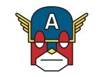 Capitão América Por Justin Juno